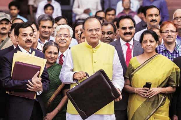 Finance minister Arun Jaitley will present his second full-year budget on Monday. Photo: Bloomberg