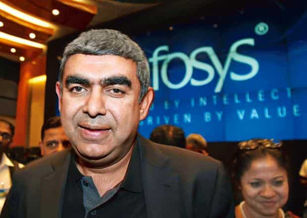 Infosys bets on automation for 30% margin on $20 billion revenue by 2020