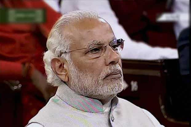 Narendra Modi's reticence has undermined the image of a decisive leader who swept to power in May 2014. Photo: PTI