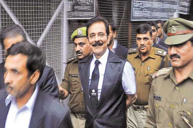 Roy begins his third year in jail on Friday. He is writing a Thoughts from Tihar trilogy from behind bars. The Supreme Court has said that Roy will not be released unless he pays the Rs10,000 crore bail. Photo: HT