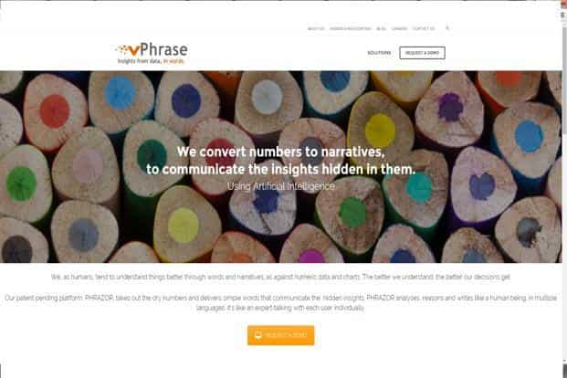 vPhrase Analytics Solutions raises undisclosed amount from