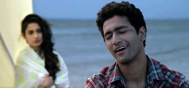 Vicky Kaushal (right) in a still from 'Zubaan'