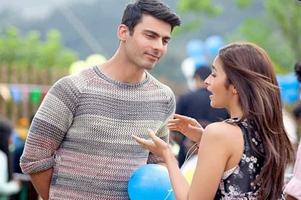 Fawad Khan and Alia Bhatt in a still from Kapoor & Sons (Since 1921)