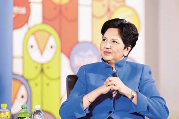 A file photo of PepsiCo CEO Indra Nooyi Photo: Getty Images