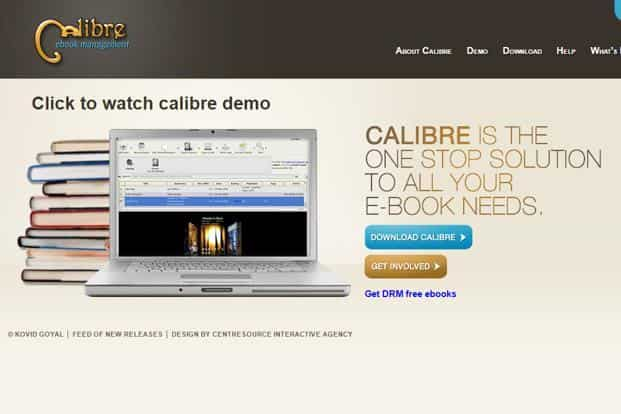 How one of the most popular e-book management softwares, calibre