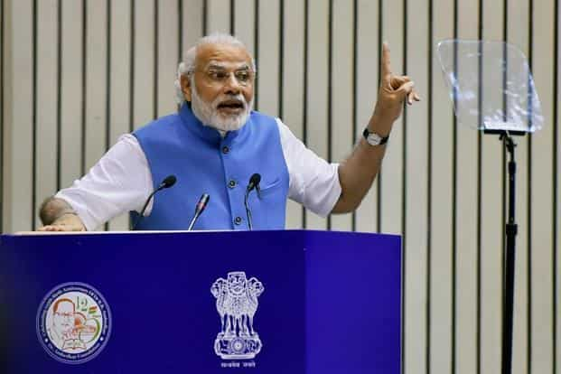 Prime Minister Narendra Modi's popularity seems to be dented among the relatively well-off ahead of a series of state elections. Photo: PTI