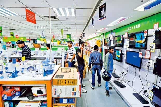 In just 25 years, the number of brands of apparel and accessories has increased 30-fold, television brands have doubled and automobile manufacturers have increased from just four in 1991 to more than 10 today. Photo: Priyanka Parashar/Mint