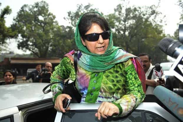 Mehbooba Mufti will be the first woman chief minister of Jammu and Kashmir. Photo: Hindustan Times