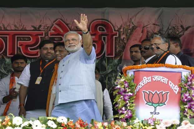 Prime Minister Narendra Modi-led NDA government completes two years in power in May. Photo: Hindustan Times