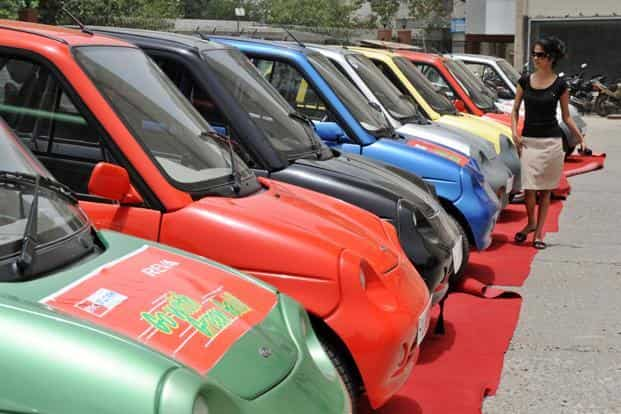 At these levels, India remains miles away from its objective of selling 6 million electric vehicles by 2020, a vision stated by the government through the National Electric Mobility Mission Plan 2020 and FAME. Photo: AFP