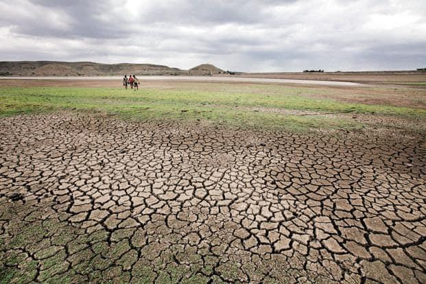 Maharashtra and nine other states, including Madhya Pradesh, Karnataka and Uttar Pradesh, declared a drought in 2015. Photo: Hindustan Times