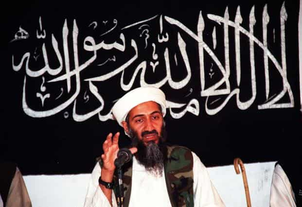 A file photo of Osama bin Laden. O'Neill, who is charged with driving under influence, gained public attention when he told The Washington Post in 2014 that he fired the fatal shot that struck bin Laden. Photo/AFP