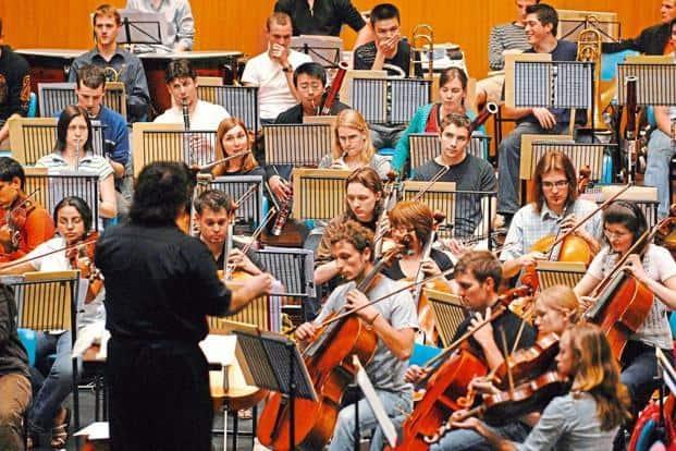 The Symphony Orchestra of India. Photo: Abhijit Bhatlekar/Mint
