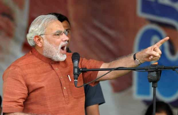 A file photo of prime minister Narendra Modi. Photo: AFP
