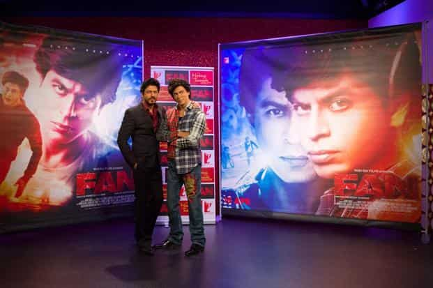 Overseas territories, where Shah Rukh Khan is known to reign, have only brought in collections of around `40 crore for the Maneesh Sharma-directed film. Photo: AFP