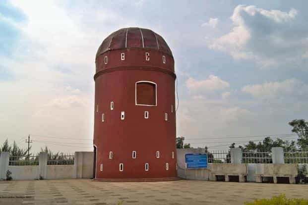 The historic Martello tower in Pakur. Photographs by Hansda Sowvendra Shekhar