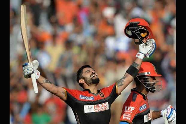 For Virat Kohli, the occasion was marred by Gujarat Lions, who coasted to a six-wicket victory, led first by Brendon McCullum and then Dinesh Karthik. AFP