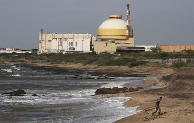 A file photo of Kudankulam nuclear power project in Tamil Nadu. Photo: Reuters
