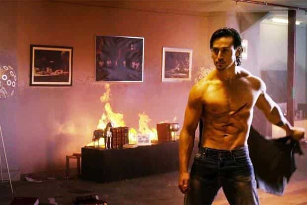 Tiger Shroff is competent at best as a lover, a comic and a dramatic actor, but he's quite a sight when he's fighting onscreen