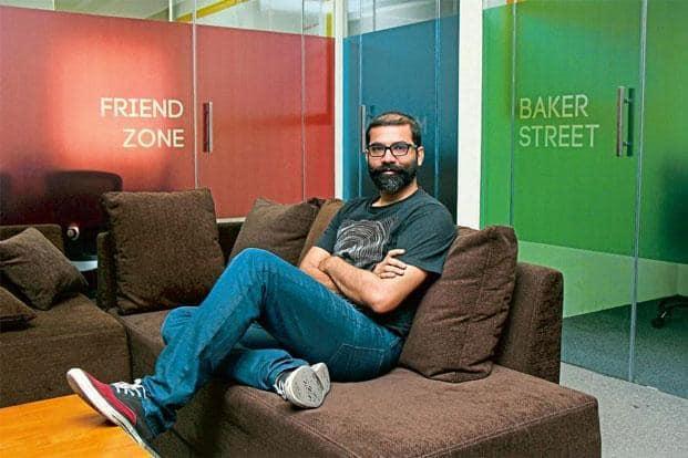 Arunabh Kumar at the TVF office in Mumbai. Photo: Devendra Parab/Mint