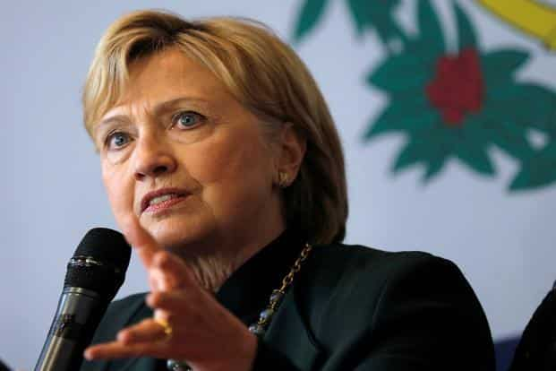 In her book, Hard Choices, Clinton has noted that she and some of her colleagues 'thought we could not trust Pakistan'. Photo: Reuters