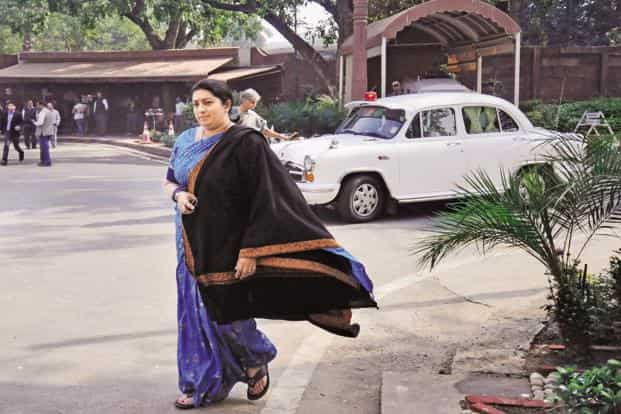 """HRD minister Smriti Irani said the UGC on its part has started a portal """"KnowYourCollege"""" and a mobileApp providing details about universities and colleges so that gullible students are not duped by such fake institutions. Photo: Hindustan Times"""