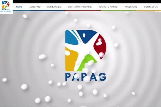 Parag milk ipo share price