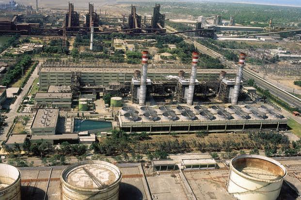 A file photo of Essar Power plant, Hazira