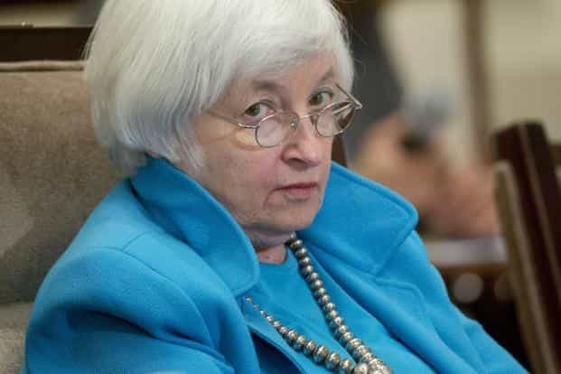 A file photo of Federal Reserve chair Janet Yellen. Photo: Reuters