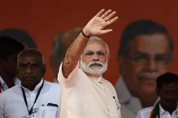 Voters in the state, specially youth and women, feel Prime Minister Narendra Modi-led BJP can help meet their aspirations, making it a viable option in some parts of the state. Photo: PTI