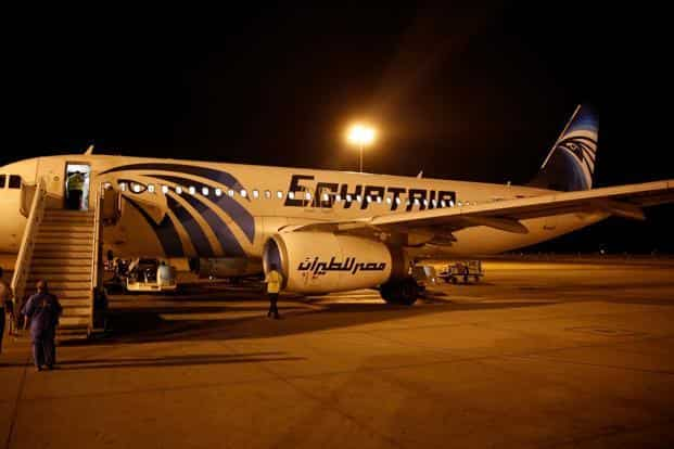 Egyptian minister of aviation Sherif Fathy said the possibility of a terrorist attack is higher than a technical failure, after French president Francois Hollande said the Airbus Group SE A320 jet had crashed. Photo: Reuters