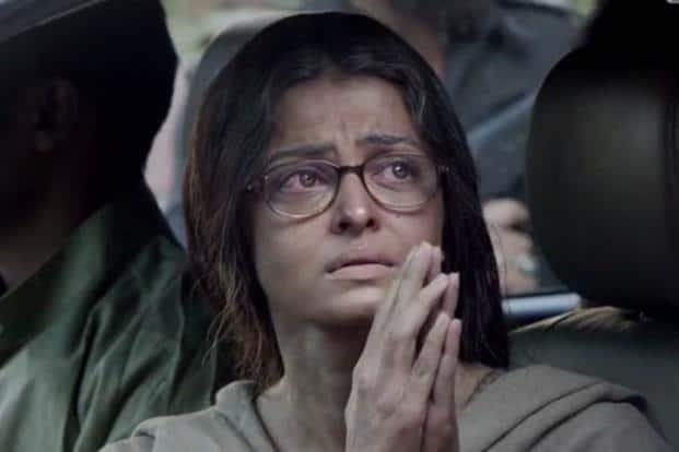 Aishwarya Rai Bachchan in a still from Sarbjit.