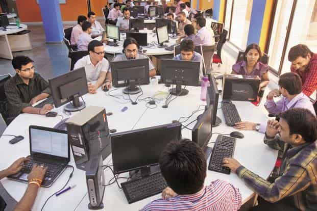 The trend could help IT firms reduce their wage bill but boost the training costs of existing employees. It will also hurt the future prospects of the hundreds of thousands of engineers India produces every year. Photo: HT
