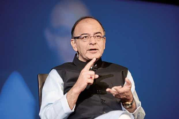 A file photo of finance minister Arun Jaitley who will be on six-day visit to Japan from Sunday. Photo: Mint