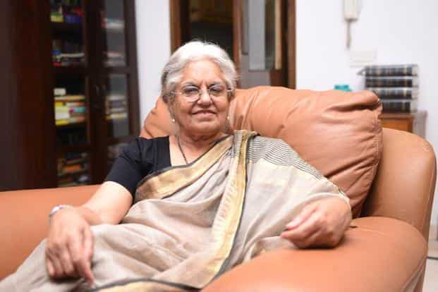 File photo. Indira Jaising, co-founder and trustee of Lawyers Collective, was the additional solicitor general of India between July 2009 to May 2014. Photo: Ramesh Pathania/Mint