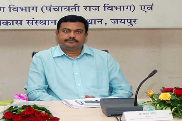 A file photo of Sriram Vedire, chairperson of Rajasthan River Basin and Water Resources Planning Authority.