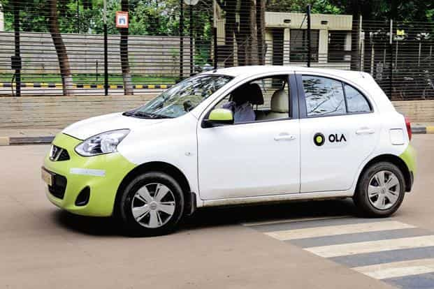 Ola's fundraising efforts come after the company has grabbed back the initiative from Uber in the race to dominate India's booming cab hailing business. Photo: Hemant Mishra/Mint