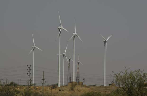 The International Renewable Energy Agency forecasts that technology, competition, improvements in supply chains, economies of scale and right policies will reduce the cost of electricity from solar and wind power by at least 26% and perhaps as much as 59% between 2015 and 2025. Photo: Mint