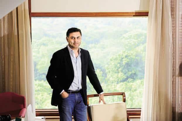 Nikesh Arora president and chief operating officer of SoftBank Corp. Photo: Pradeep Gaur/Mint