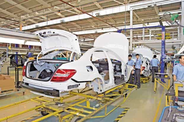 force motors inaugurates new engine plant for mercedes benz india