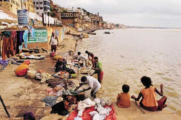 Ganga river basin sustains around 25% of India's landmass and supports nearly 50 crore people directly or indirectly. Photo: Mint
