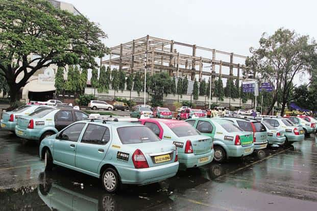Meru was launched in 2007 as an air-conditioned radio cab service. It is now competing with newer rivals such as Uber  and Ola that are backed by deep-pocketed investors. Photo: Hindustan Times