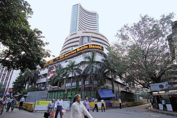 A file photo of BSE. Despite a volatile secondary market, six main-board IPOs came to the market in the quarter, collectively raising Rs5,728 crore. Photo: Hemant Mishra/ Mint