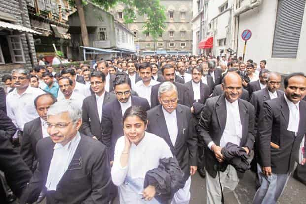 Some lawyers say that the Bar Council's draft rules may have enough 'poison pills' that may attract the bar's ire, such as allowing foreign law firms to arbitrate for foreign companies in India. Photo: Hindustan Times