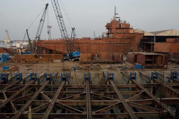 Shipbuilders will get an extended time frame of six years for constructing specialized vessels. Photo: Mint