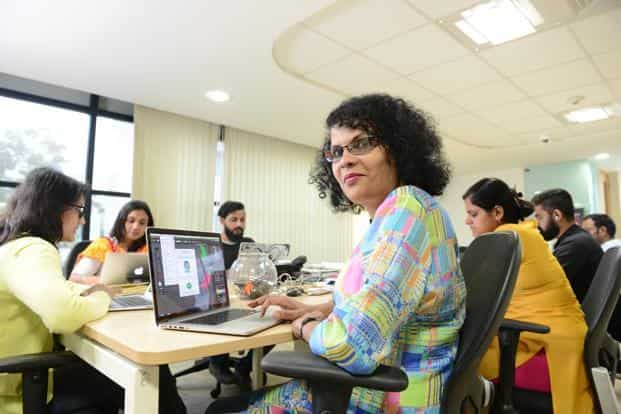 For Nayana Udupi, a trans woman who has been working as a vendor manager at ThoughtWorks for the past two years, office is the only place where she can be her true self. Photo: Hemant Mishra/Mint