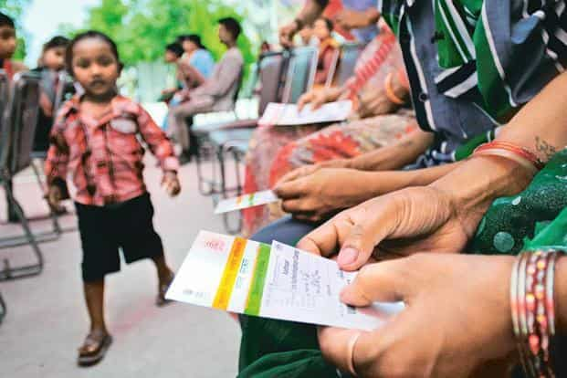 In India, Aadhaar completed the enrolment of a billion people in May, about five-and-a-half years after the programme was launched. Photo: Priyanka Parashar/Mint