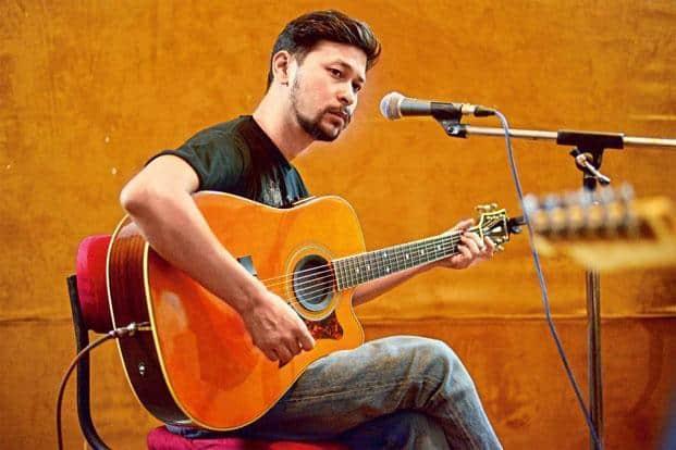 Bipul Chettri performing in Delhi, on 28 June. Photo: Pradeep Gaur/Mint