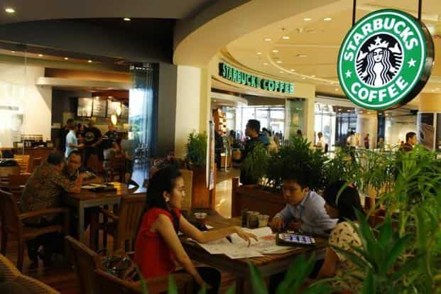 Starbucks started with big stores and is now opening smaller ones as it continues to expand and look at profitability.  Photo: Reuters