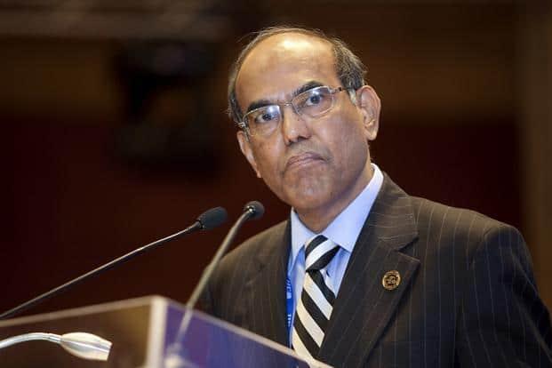 File photo of Duvvuri Subbarao. Photo: Bloomberg